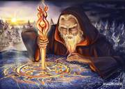 Мир магии. Помощь Ведуньи. Отливаю на воск