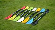 Разборное двухсекционное весло для байдарок и каяков.